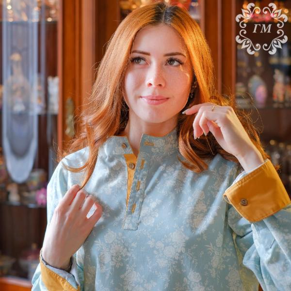 Рубаха косоворотка: для всех! - Георгий Маркин - Современные мужские косоворотки