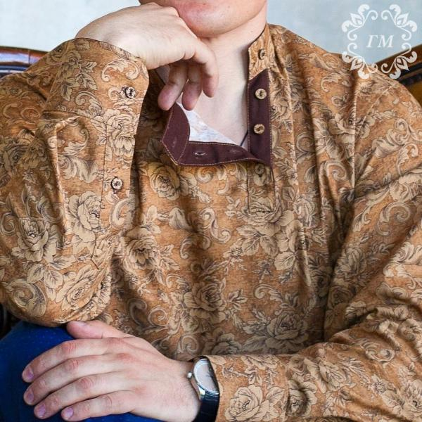 """Косоворотка от """"ГМ"""" - идеальная рубашка!  - Георгий Маркин - Студия дизайнерской одежды"""