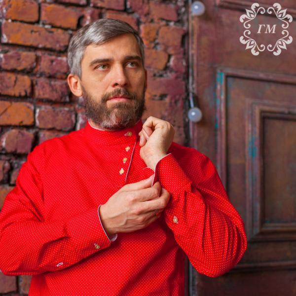 Косоворотка - идеальное сочетание - Георгий Маркин - Студия дизайнерской одежды