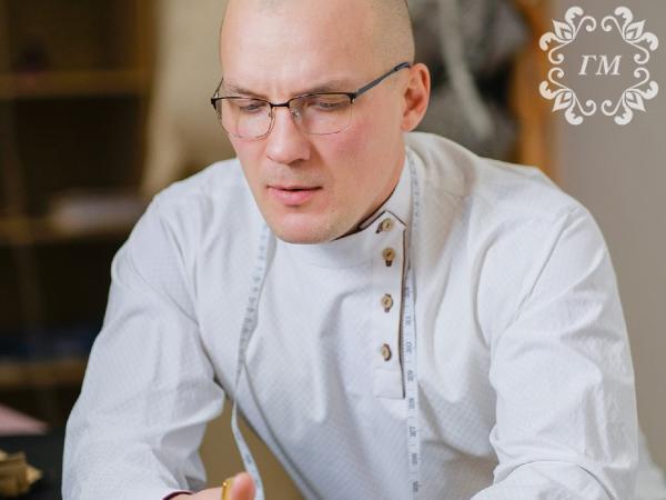 Купить косоворотку — купить историю - Георгий Маркин - Современные мужские косоворотки