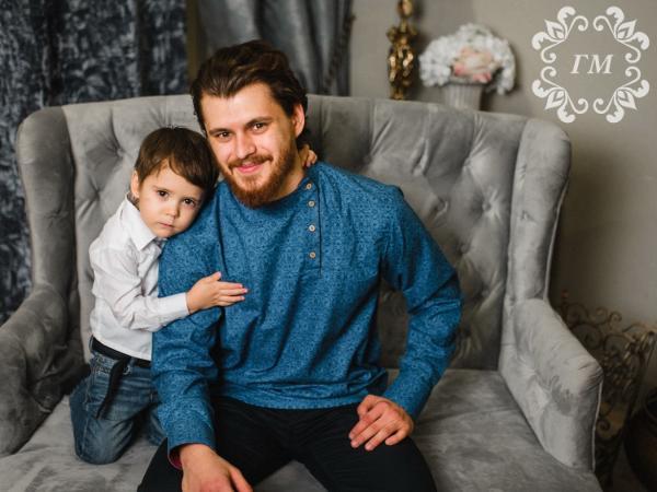 Косоворотки для отцов и сыновей со скидкой! - Георгий Маркин - Студия дизайнерской одежды