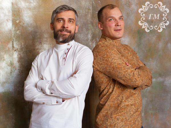 Современное воплощение косоворотки от Георгия Маркина - Георгий Маркин - Студия дизайнерской одежды
