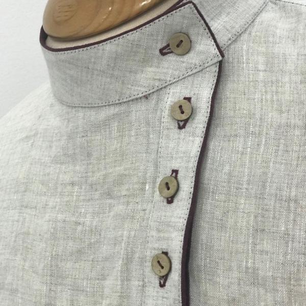 Косоворотка льняная - Георгий Маркин - Студия дизайнерской одежды